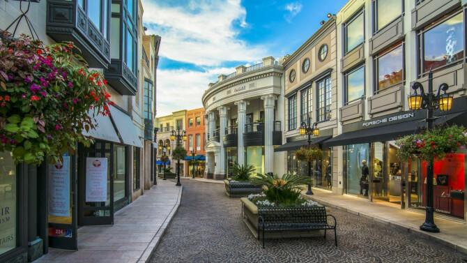 Top 20 things to do in Los Angeles: The shopping street of Rodeo Drive