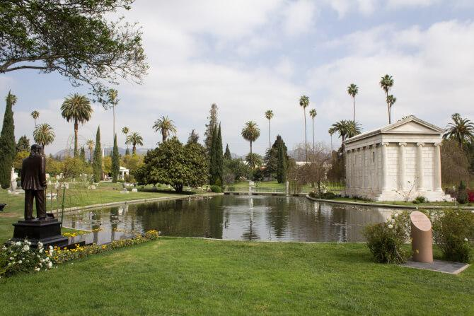Top 20 things to do in Los Angeles: Part of the Hollywood Forever Cemetery