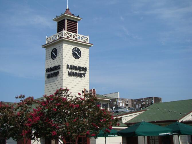 Top 20 things to do in Los Angeles: The clock tower of the Farmers Market