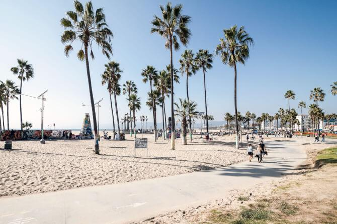 Top 20 things to do in Los Angeles: The sandy Venice Beach