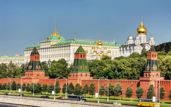 Top 20 things to do in Moscow: Visiting the red walls of the Moscow Kremlin is high on the list of things to do in Moscow