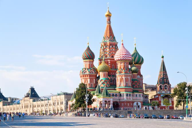 Top 20 things to do in Moscow: The St. Basil's Cathedral