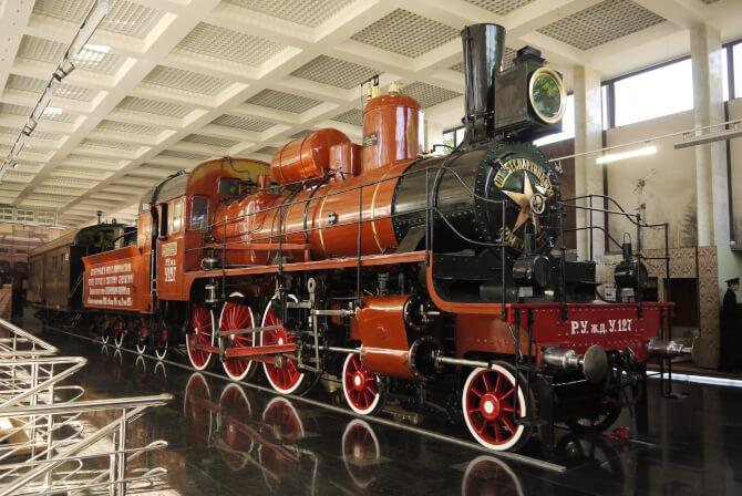 Top 20 things to do in Moscow: Museum of the Moscow Railway
