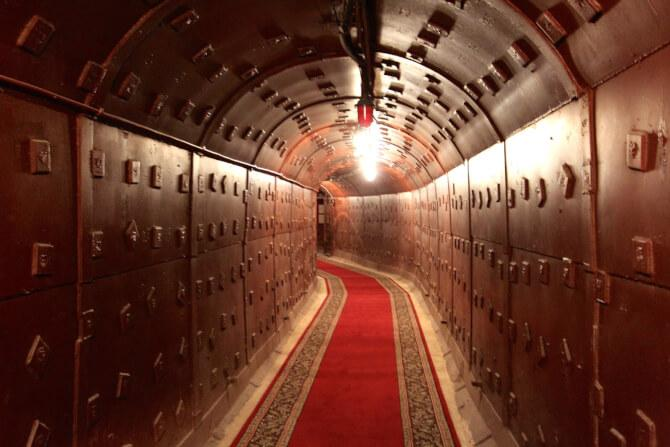 Top 20 things to do in Moscow: One of the many tunnels of Bunker-42