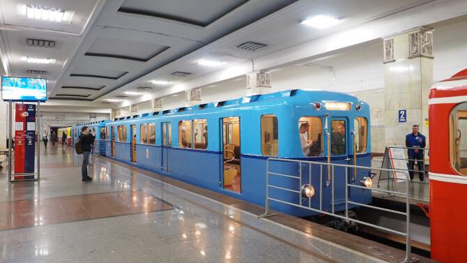 Top 20 things to do in Moscow: One of the cars used at the Public Museum of the Moscow Metro