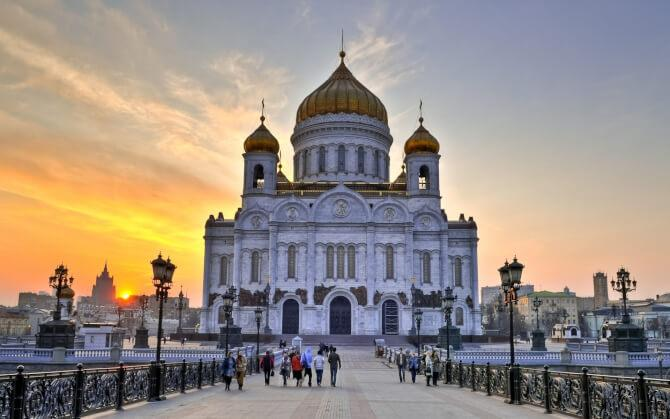 Top 20 things to do in Moscow: Cathedral of Christ the Saviour