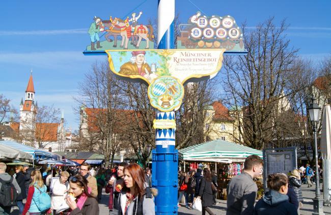 Top 20 things to do in Munich: Viktualienmarkt