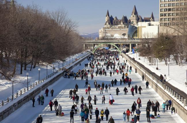 Top 20 things to do in Ottawa: Rideau Canal during winter - Top 20 things to do in Ottawa