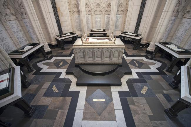 Top 20 things to do in Ottawa: Memorial Chamber inside the Peace Tower