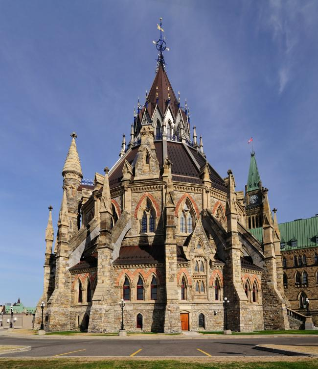 Top 20 things to do in Ottawa: Library of Parliament