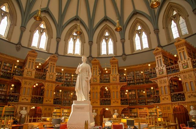 Top 20 things to do in Ottawa: Inside the Library of Parliament