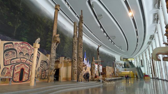 Top 20 things to do in Ottawa: Canadian Museum of History - Totem pole collection