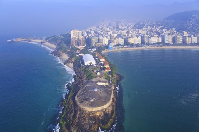 Top 20 things to do in Rio de Janeiro: Fort Copacabana