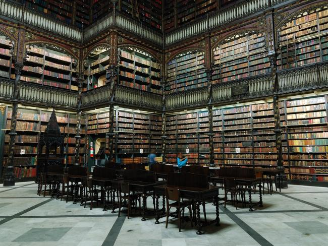 Top 20 things to do in Rio de Janeiro: Royal Portuguese Cabinet of Reading - must-see among the things to do in Rio de Janeiro for booklovers