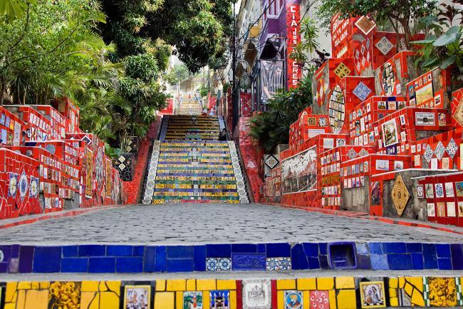 Top 20 things to do in Rio de Janeiro: Escadaria Selarón