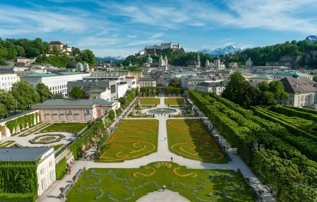 Top 20 things to do in Salzburg: Mirabell Garden