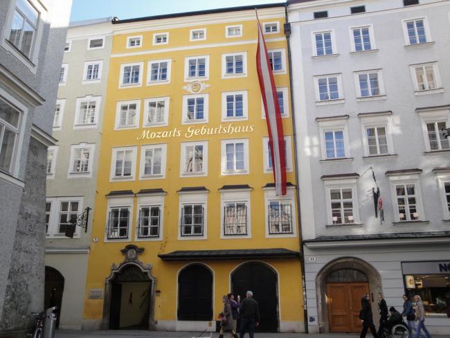 Top 20 things to do in Salzburg: Mozarts Geburtshaus