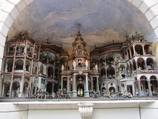 Top 20 things to do in Salzburg: The mechanical threatre at the Hellbrunn Palace Gardens