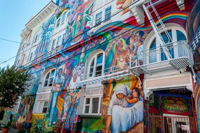 Top 20 things to do in San Francisco: The painted walls at Mission District