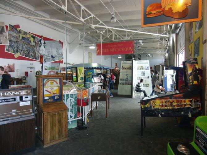 Top 20 things to do in San Francisco: Part of the Musée Mécanique