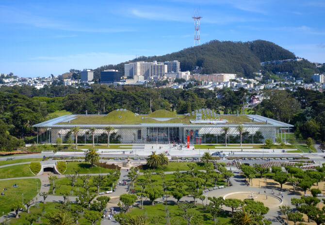 Top 20 things to do in San Francisco: Outside view of the California Academy of Sciences