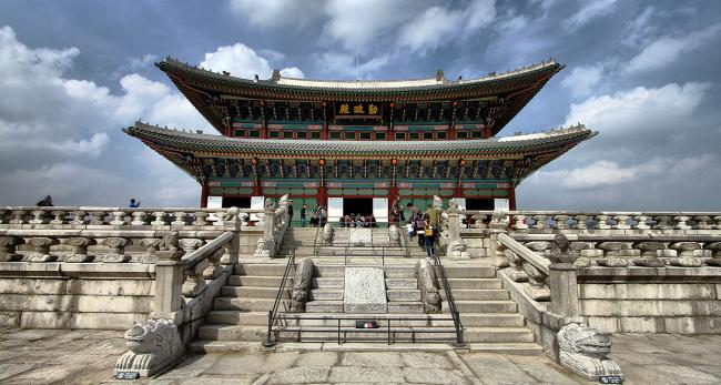 things to do in seoul:Gyeongbokgung Palace