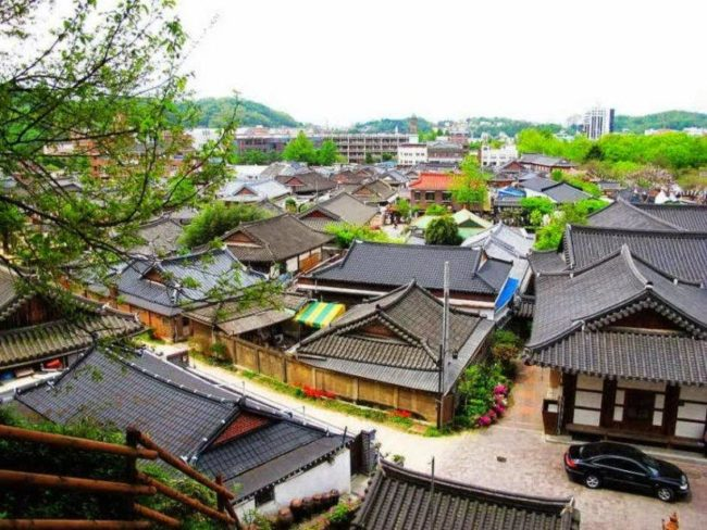 things to do in seoul:Bukchon