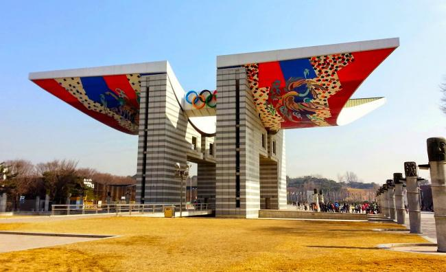 things to do in seoul:Olympic Park