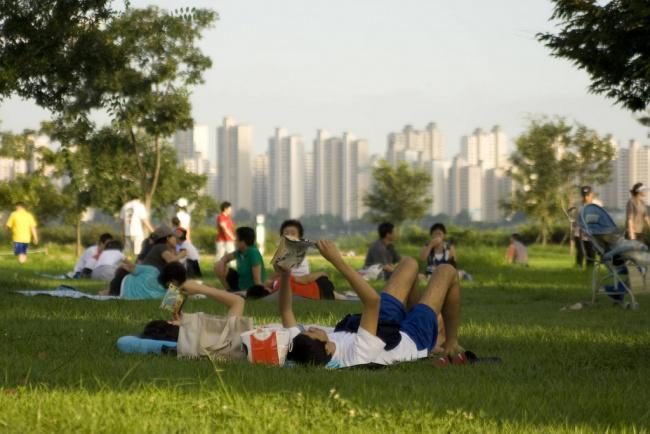 things to do in seoul:Hangang Park