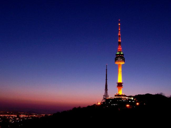 things to do in seoul:N Seoul Tower