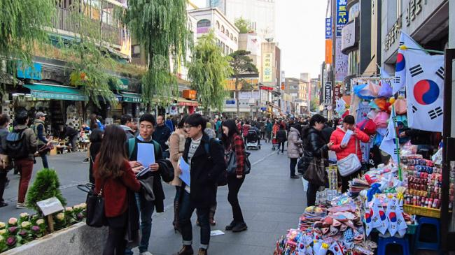 things to do in seoul:Insadong