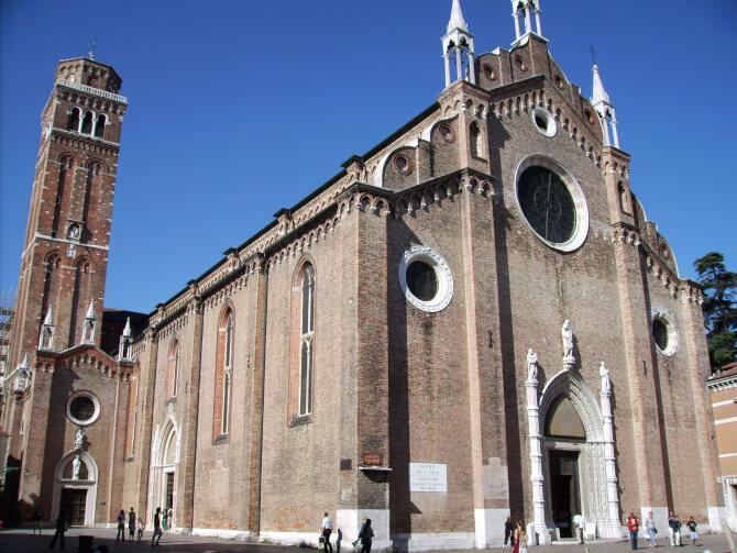 Top 20 things to do in Venice: Santa Maria Gloriosa dei Frari