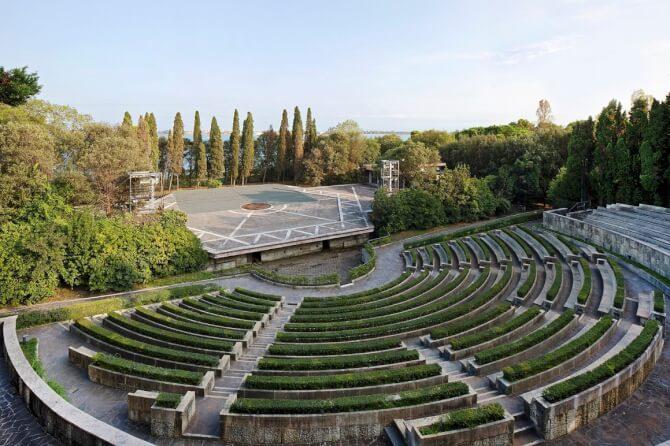 Top 20 things to do in Venice: Teatro Verde at San Giorgio Maggiore