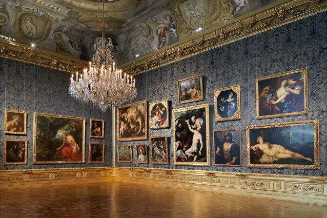Top 20 things to do in Vienna: The interior of the Belvedere Museum