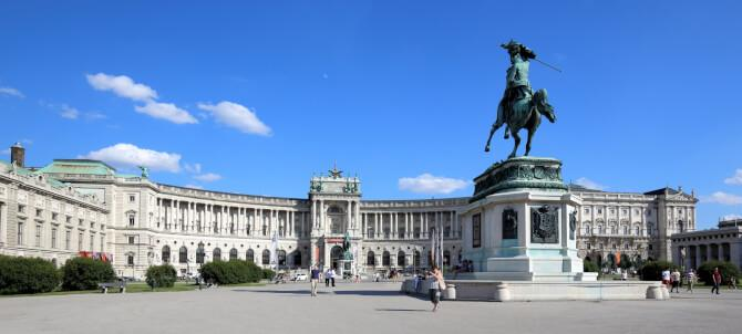 Top 20 things to do in Vienna: The front of the Hofburg Palace
