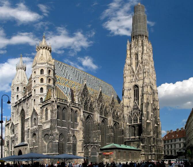 Top 20 things to do in Vienna: Outside view of the St. Stephen's Cathedral