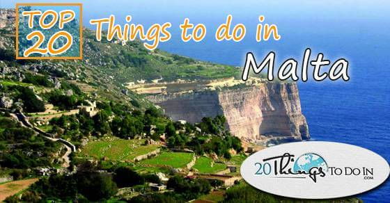 Top 20 things to do in Malta