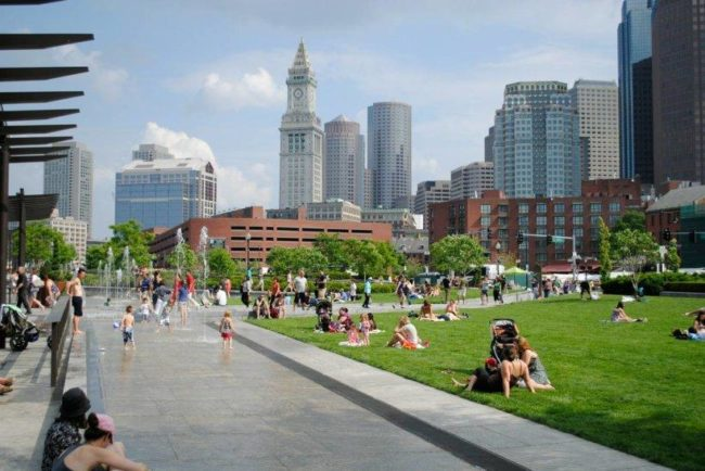 Top 20 things to do in Boston: Rose Fitzgerald Kennedy Greenway