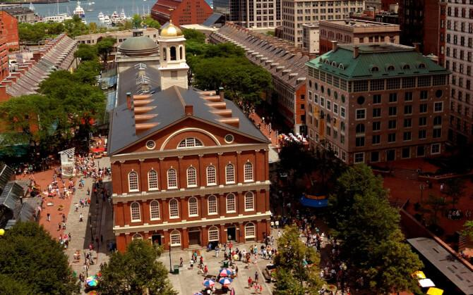 Top 20 things to do in Boston: Faneuil Hall Marketplace