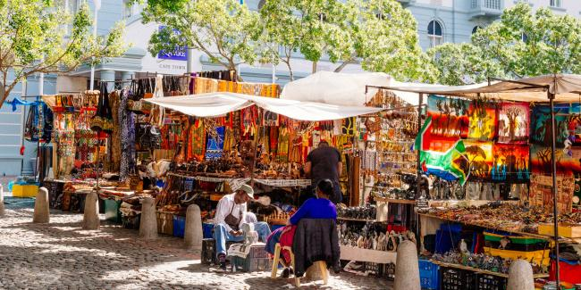 Top 20 things to do in Cape Town: Greenmarket Square
