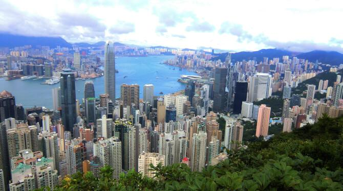 Top 20 things to do in Hong Kong: View from Victoria Peak