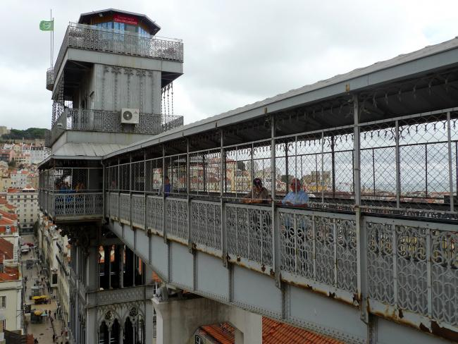 Top 20 things to do in Lisbon: Santa Justa Lift