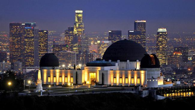 Top 20 things to do in Los Angeles: The Griffith Observatory located at the Griffith Park