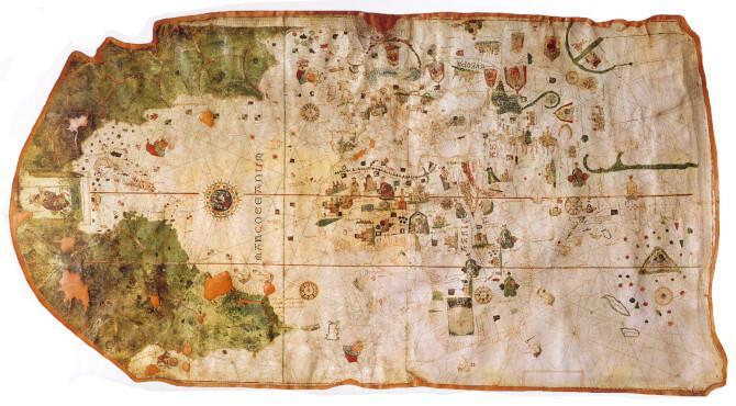 Top 20 things to do in Madrid: Map of Juan de la Cosa