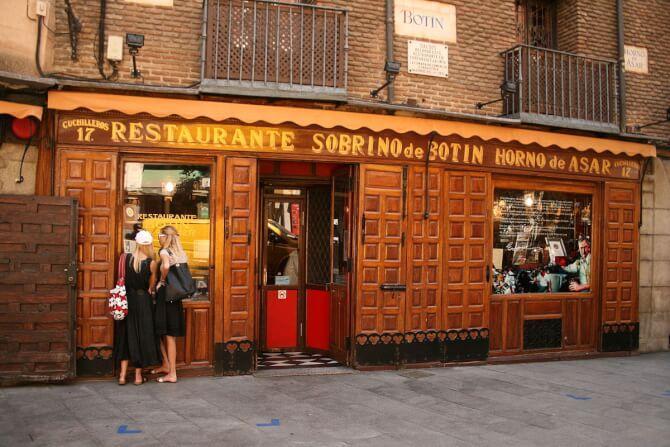Top 20 things to do in Madrid: Sobrino de Botin