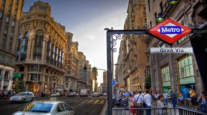 Top 20 things to do in Madrid: Gran Vía