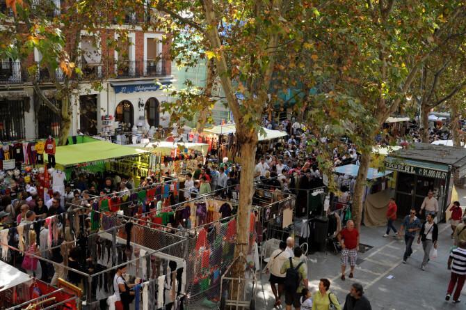 Top 20 things to do in Madrid: El Rastro Market