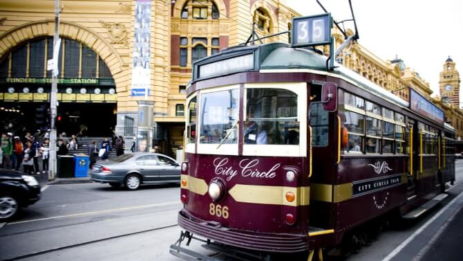 Top 20 things to do in Melbourne: City Circle Tram