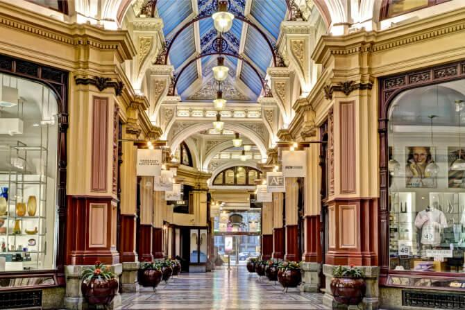 Top 20 things to do in Melbourne: Block Arcade