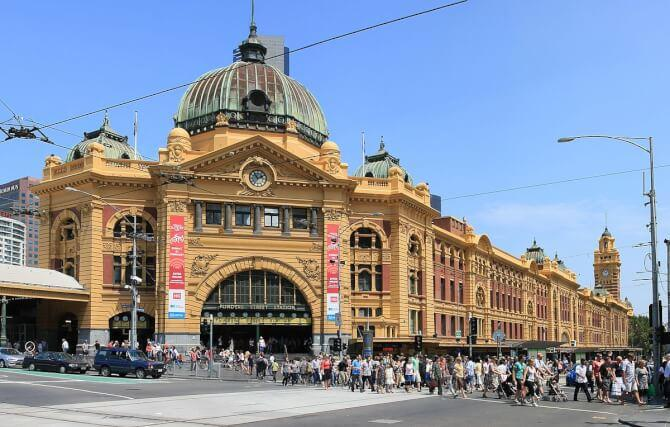 Top 20 things to do in Melbourne: Flinders Street railway station
